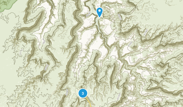 Havasupai Indian Reservation Map