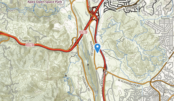 Thunder Valley Park Map