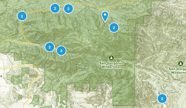 San Gorgonio Wilderness Map