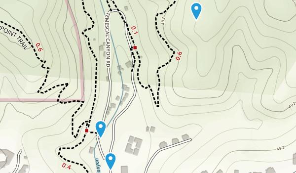 Temescal Gateway Park Map