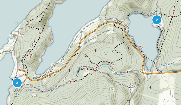 Belcarra Regional Park Map
