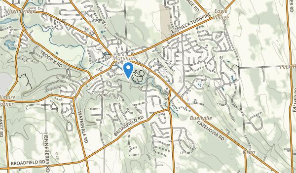Mill Run Park Map