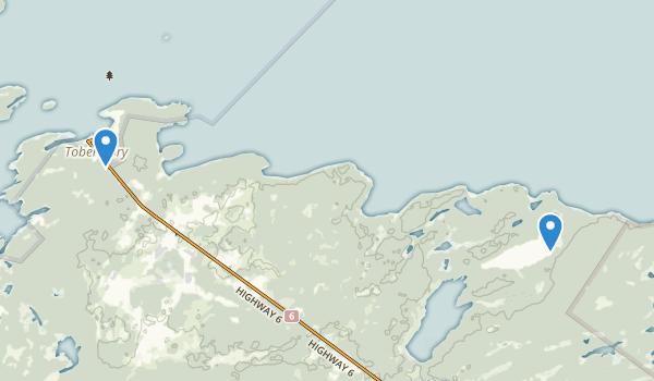 Little Cove Provincial Park Map