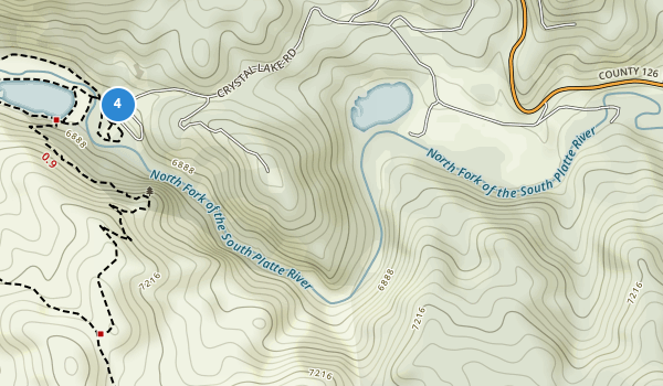 trail locations for Pine Valley Ranch Park