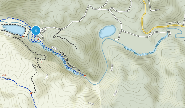 Pine Valley Ranch Park Map