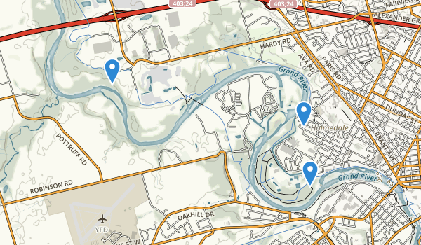 Brant Conservation Area Map