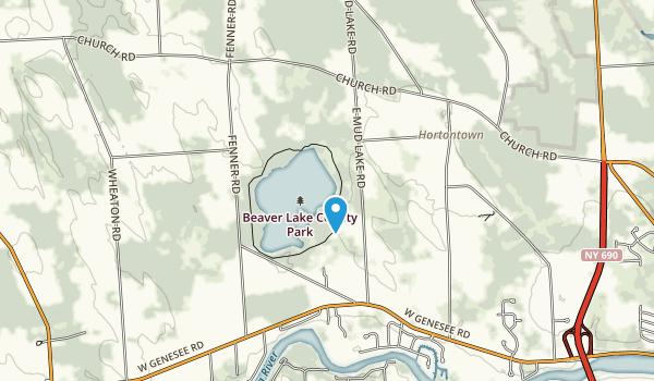 Beaver Lake County Park Map