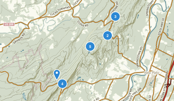 Mohonk Preserve Map