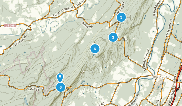 Mohonk Preserve Map