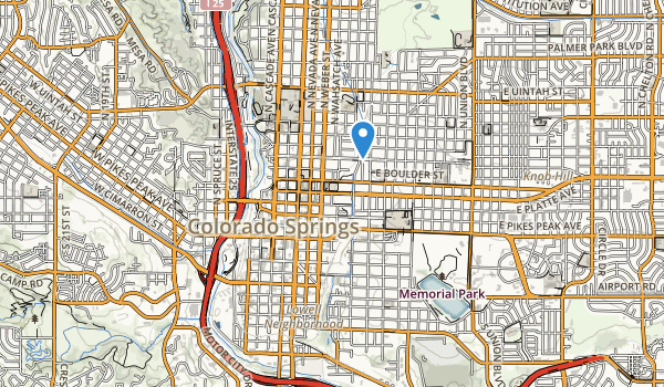 Middle Shooks Run Park Map