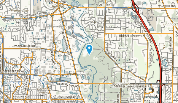 Ryerson Conservation Area Map