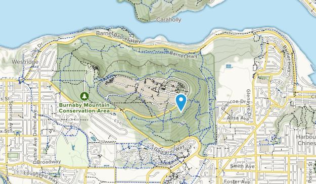 Naheeno Park Map