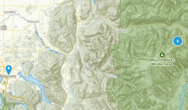 Mt Baker Ski Area Map