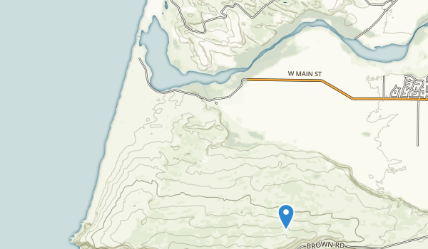 trail locations for Guadalupe Dunes Co Park