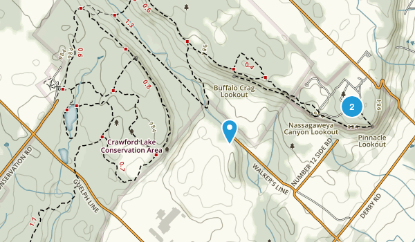 Rattlesnake Point Conservation Area Map