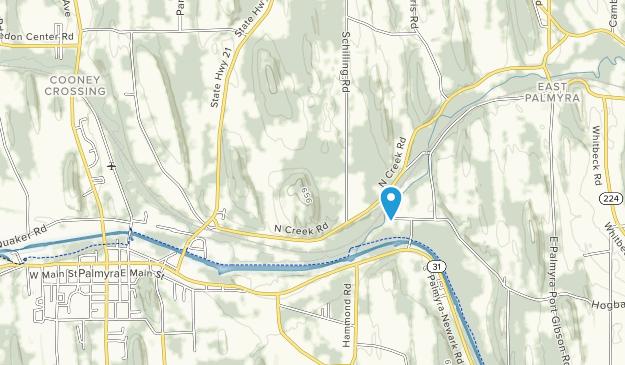 Swifts Landing Park Map