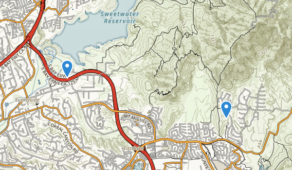 Sweetwater County Park Summit Site Map