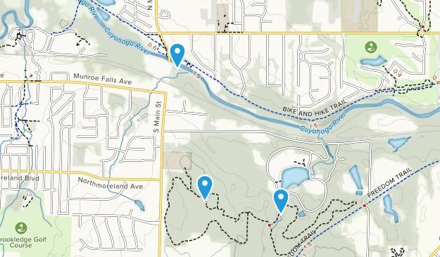 Munroe Falls Metro Park Map