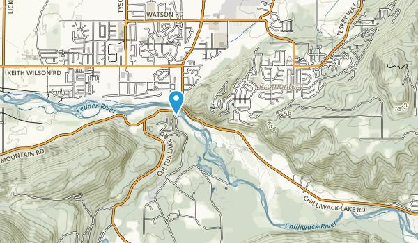 Mt Thom Park Map