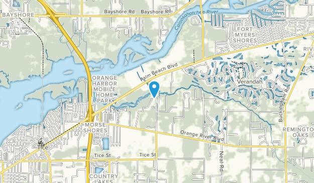 Manatí parque Map