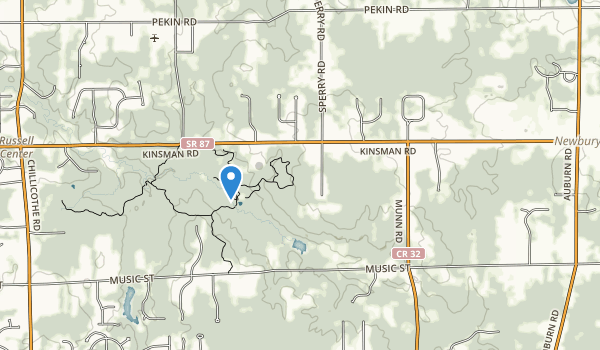 Wiegands Lake Park Map