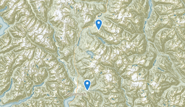 trail locations for Rebagliati Park