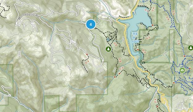 Picchetti Ranch Open Space Preserve Map