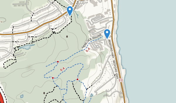 Hemlock Ravine Park Map