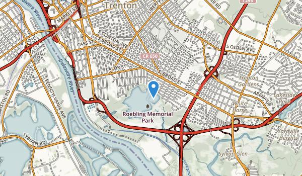 John A Roebing Memorial Park Map