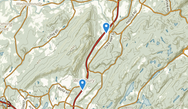 Schunnemunk Mountain Map