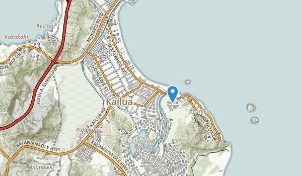 Kalua District Park Map