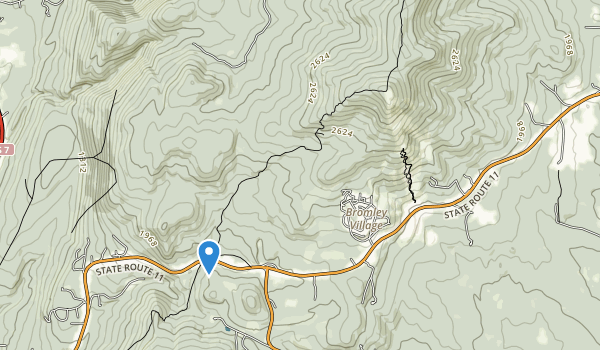 trail locations for Hapgood State Forest