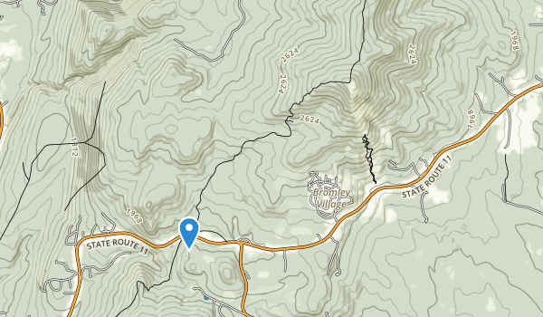 Hapgood State Forest Map