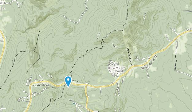Bosque Estatal Hapgood Map