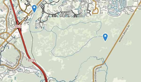 Flatwoods Wildermess Park Map