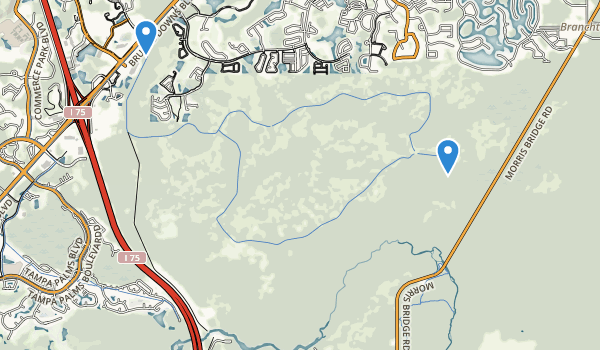 Flatwoods Wildermess Park Map