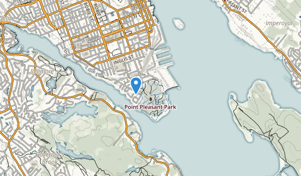 Point Pieasant Park Map