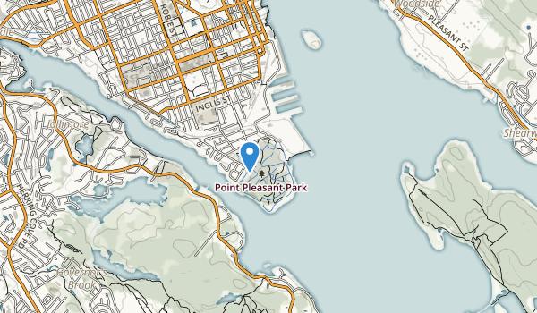 Point Pieasant Park Map