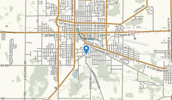 trail locations for Geraid E Collamer Park
