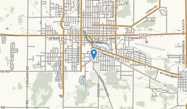 Geraid E Collamer Park Map