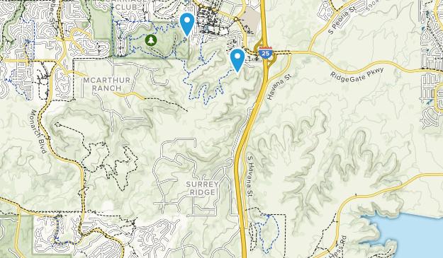 Bluffs Regional Park Map