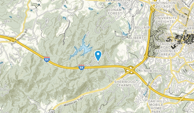 Ragged Mountain Natural Area Map