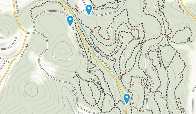 Boyce Park Map