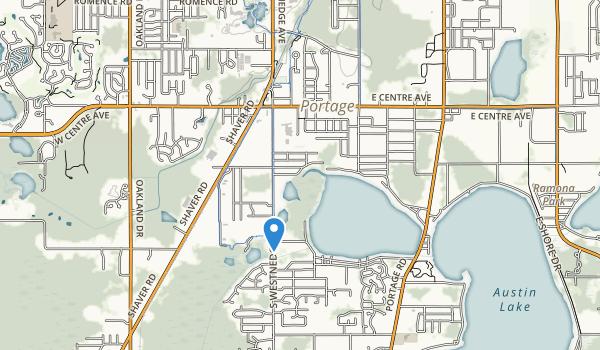 West Lake Nature Preserve Map