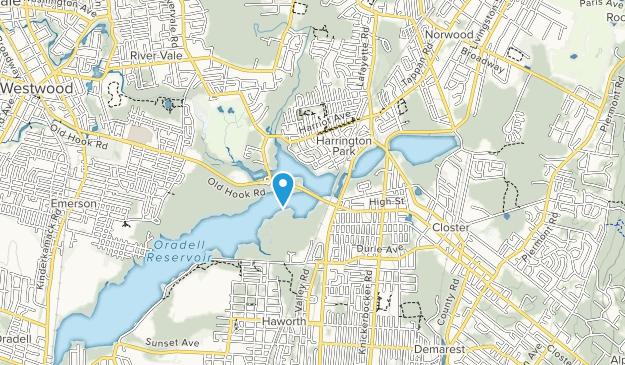 Harrington Park Map