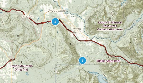 Rattlesnake Mountain Scenic Area Map