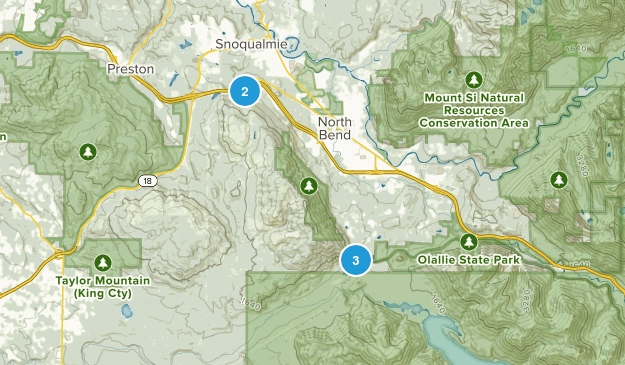 Rattlesnake Mountain Scenic Area Map
