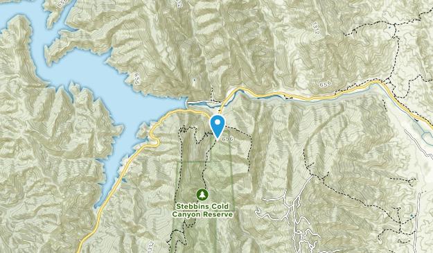 Putah Creek Wildlife Area Map
