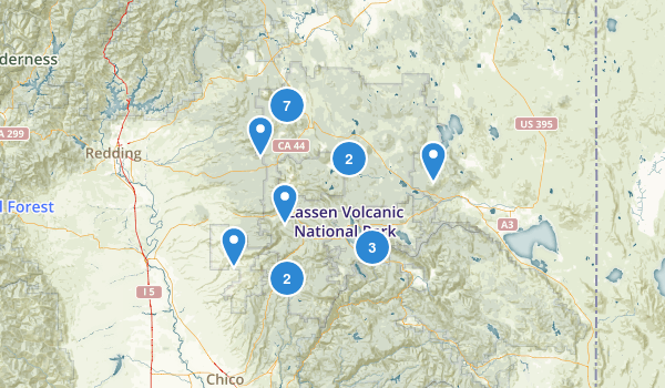 Lassen National Forest Map