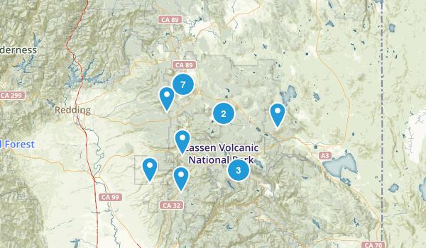 Lassen National Forest Map